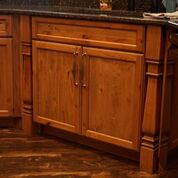 Brannock Kitchen Cabinet Doors Installed by Leatherman Supply