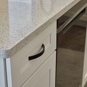 Hosaflook Custom Cambria Quartz Elegant Kitchen Hardware Specialty Design by Leatherman Supply Northern Indiana