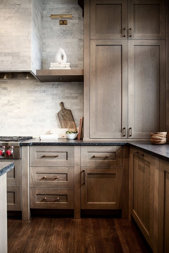 Stained wood kitchen trends 2021